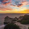 Unique Portugal Algarve Coastline at Sunset Photography 2 Messagez com
