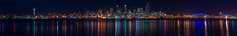 Seattle Panoramic from West Seattle