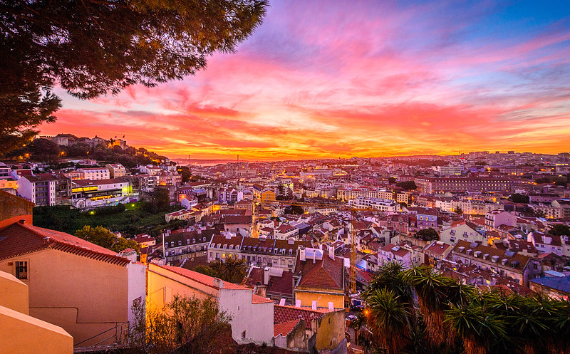 Best of Lisbon Sunset Photography 5 By Messagez com