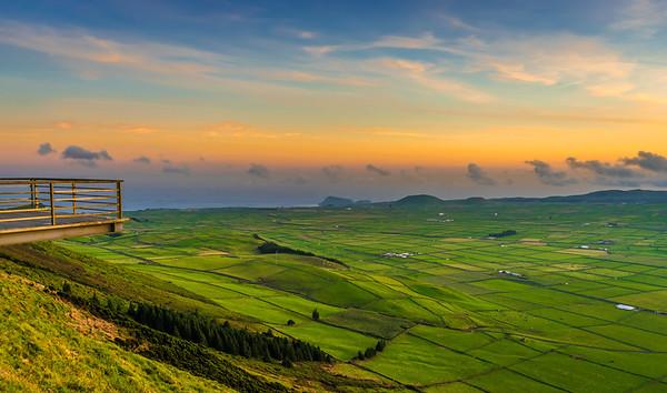 Original Terceira Island Viewpoint Sunset Photography 2 By Messagez com