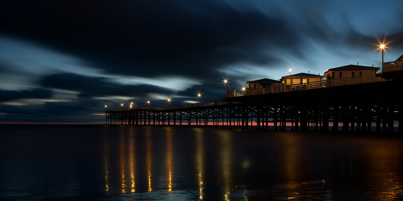 Crystal Pier Pacific Beach Twilight