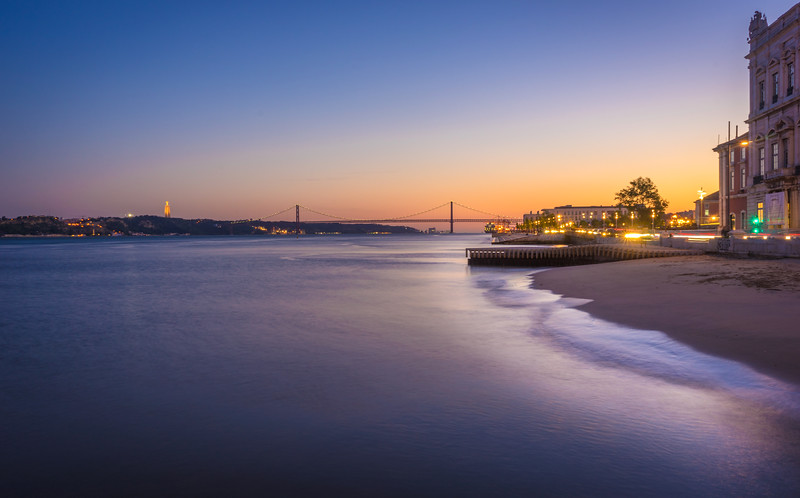 Silky Lisbon Sunset Photography 2 By Messagez com