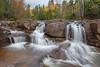 Upper Gooseberry falls;platom