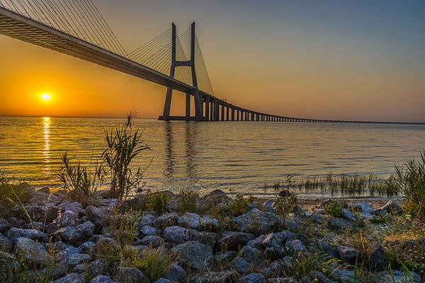 Best of Lisbon Bridge Sunrise Photography 6 By Messagez com