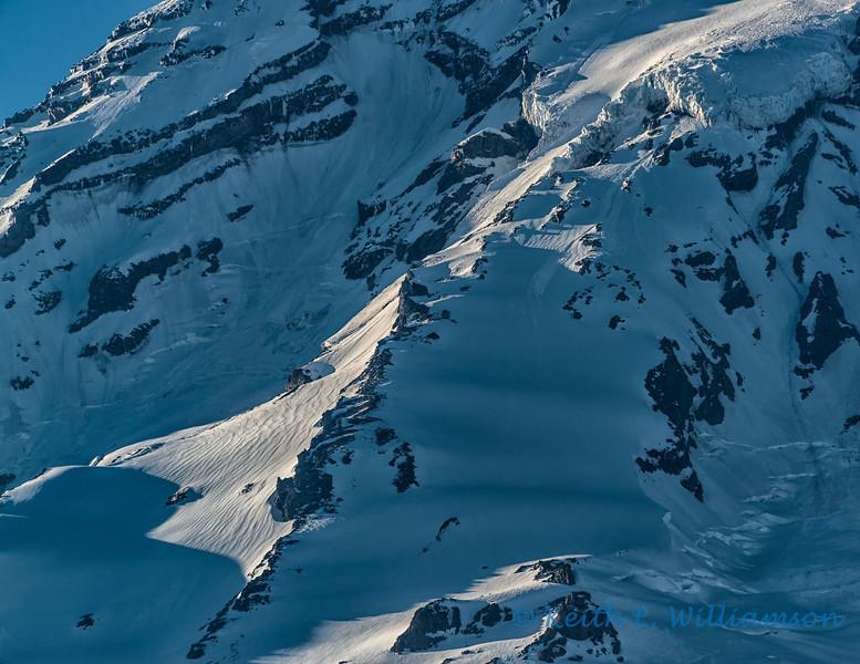 Kautz Glacier route, Mount Rainier