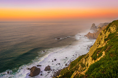 The Mystic Coast of Portugal at Sunset Photography By Messagez com