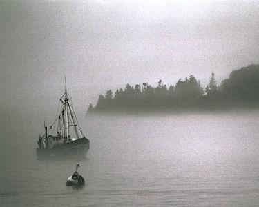 Fishing Boat off Porcupine Islands, Bar Harbor Maine