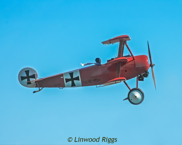 "I photographed this Fokker ""Red Baron"" plane at the Owls's Head Transportation Museum, near Rockland, Maine."