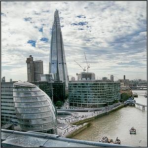 London from Tower Bridge