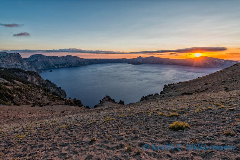 Sunset, Cloud Cap, Crater Lake, Oregon