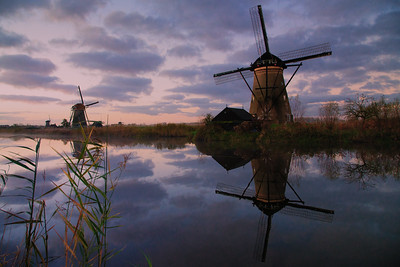 What's really amazing about the windmills at Kinderdijk is that they are still completely functional. This one was built in the middle of the 18th century and it's still in operation to this day. The engineer in me is even more impressed than the photographer. The other cool thing, at least I think, is that there is a family living in this windmill. How awesome is that? November 2017.