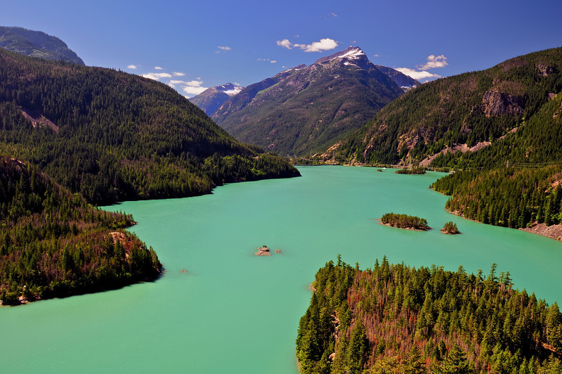 Glacial Runoff Waters of Diablo Lake