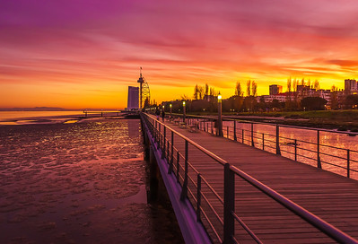 Amazing Lisbon Sunset Light Colors Photography 2 By Messagez com