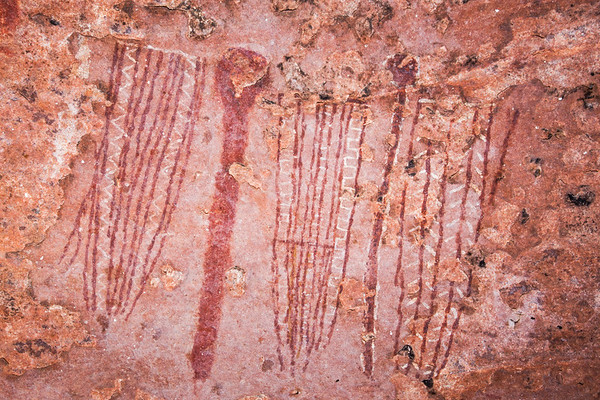Polychromatic abstract paintings, Desert Archaic, Escalante / Grand Staircase National Monument, Garfield County, Utah (6)