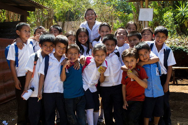Ahuachapan School Children