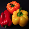 Still-Life: Colorful Bell Peppers.