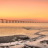Portugal Tagus River Flow at Sunset Photography By Messagez com