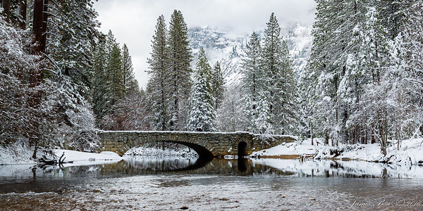 Stoneman Bridge over the Merced River