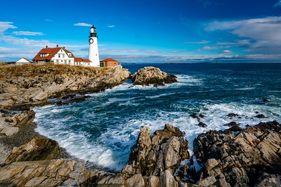 Portland Head Lighthouse. Portland, Maine. December 2015.