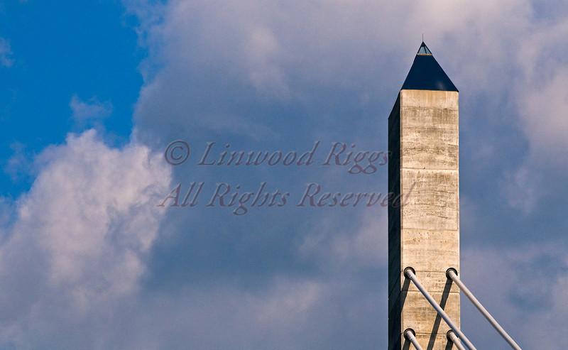 Observatory atop the Penobscot Narrows Bridge, Bucksport, ME