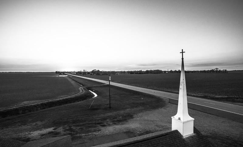 Highway Church (BW)