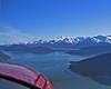 Flying over Glacier Bay NP