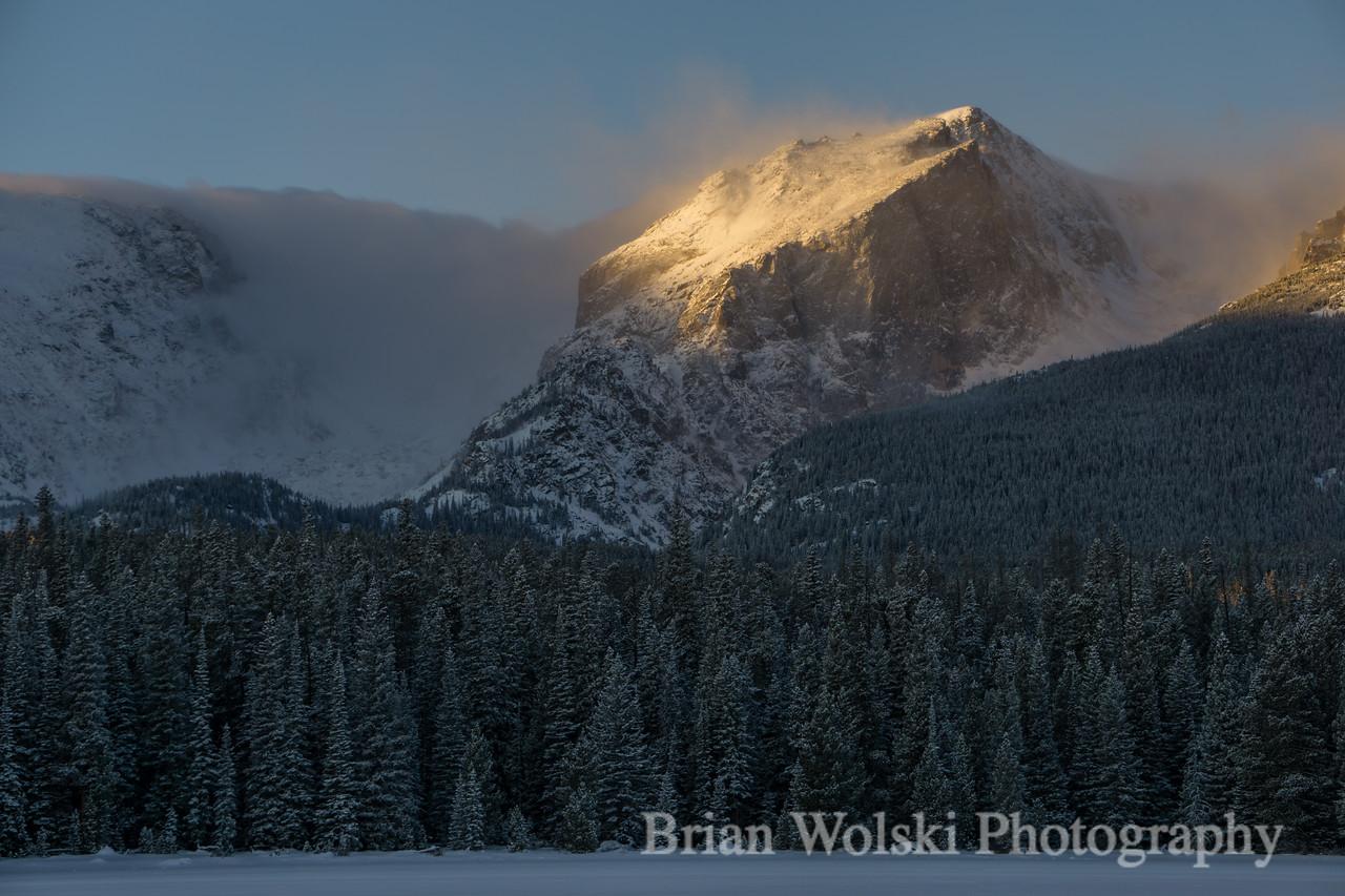 Hallett Peak - Rocky Mountain National Park