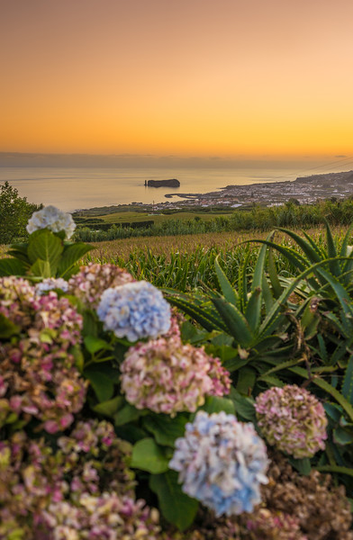 Azores Sao Miguel Island Sunset Landscape Photography 4 By Messagez com