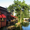 Rosebud restaurant, along the riverwalk in Naperville