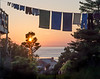 Electricity on Monhegan is about five times as expensive as it is on the mainland, so many people dry their clothes on an old-fashioned clothesline instead of an electric clothes dryer.