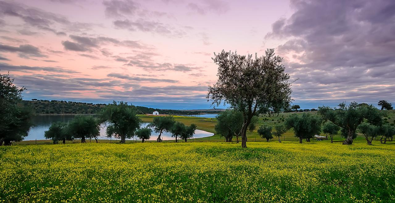 Alentejo Portugal Ermida Beauty at Sunset