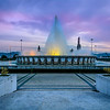 Lisbon Magical Fountain Photograph