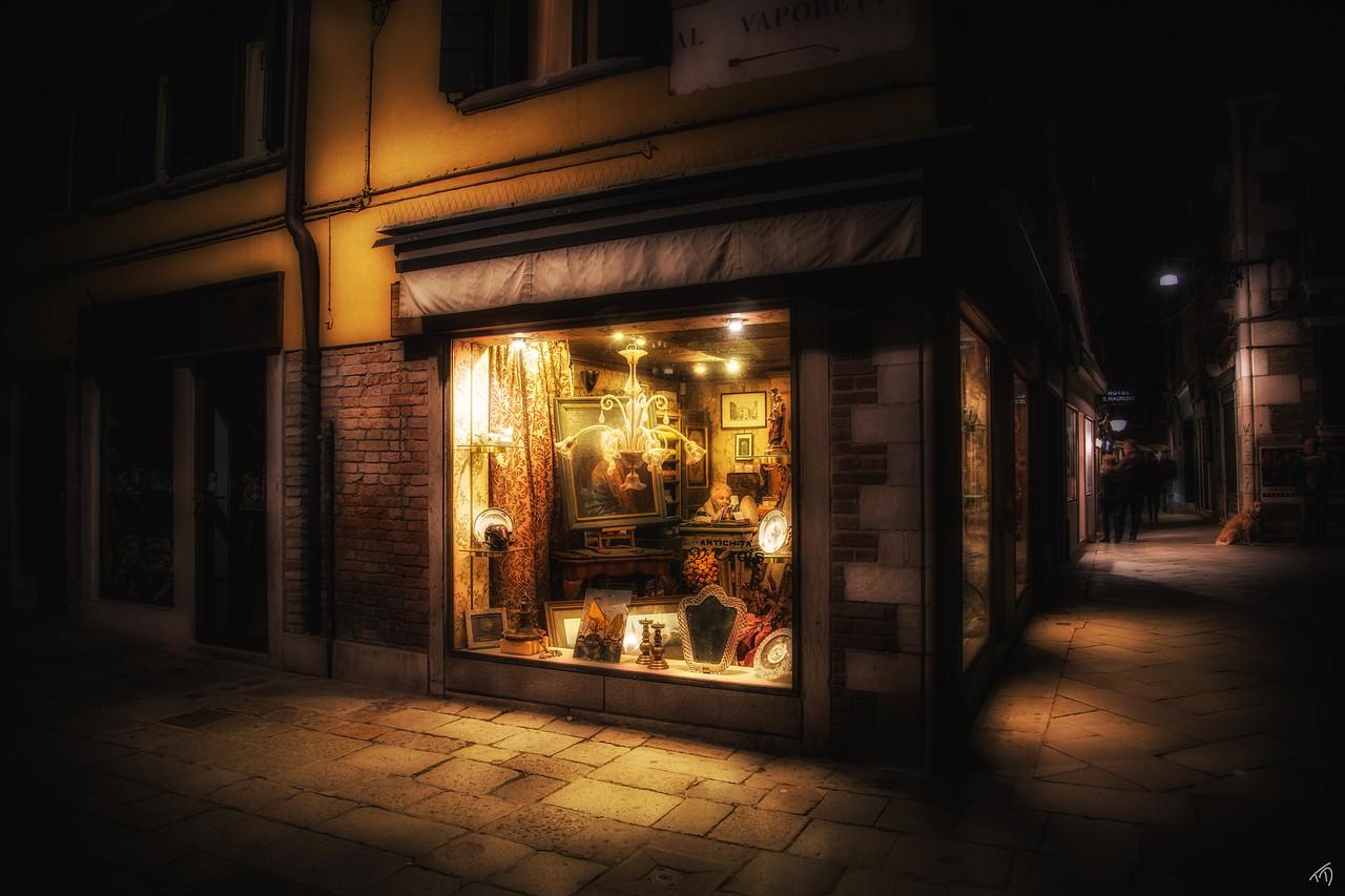 Venetian Store Front