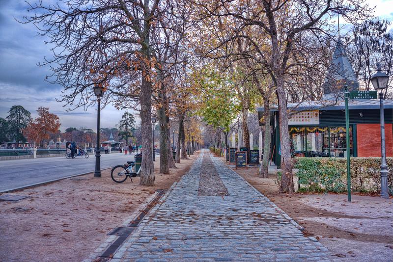 Buen Retiro Park<br /> Madrid