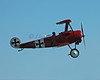 Red Baron Plane at Owl's Head (ME) Airport
