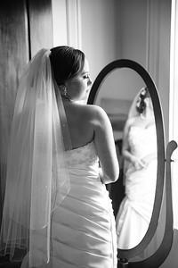 Laken & Brad's wedding day at the Ashley Inn