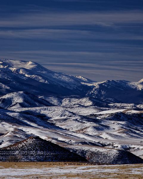 Wintertide at the Laramie Foothills