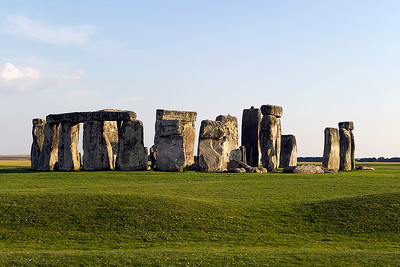 Stonehenge, taken at sunset