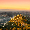 Original Sintra Castle at Sunset Photography By Messagez com