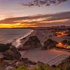 Magical Sunset in Alvor Algarve Photography By Messagez com