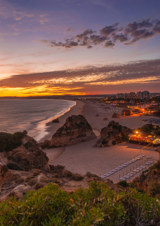 Magical Sunset in Alvor Algarve Photography By Messagez com