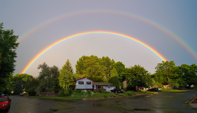 Life is Coming up All Rainbows