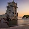Waiting for the Sunset in Lisbon Belem Tower Photography By Messagez com