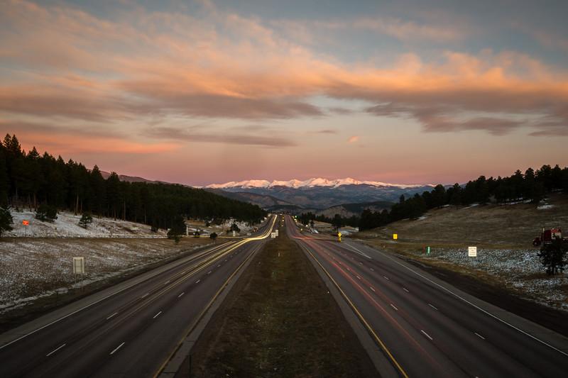 I-70 West, Colorado