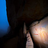 Fremont 'shield figures', pictographs, Utah
