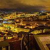 Lisbon Beauty Viewpoint at Night Photography By Messagez com