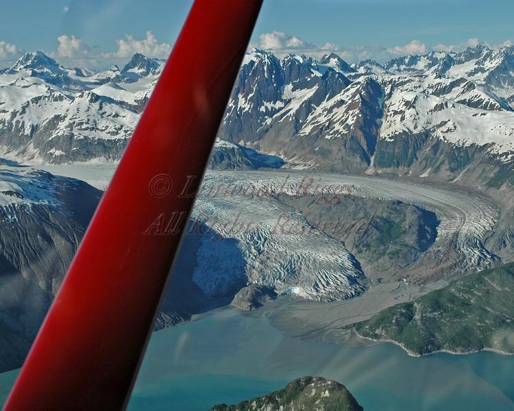 Riggs Glacier, Glacier Bay NP, Alaska