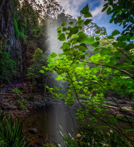 Behind Twin Falls