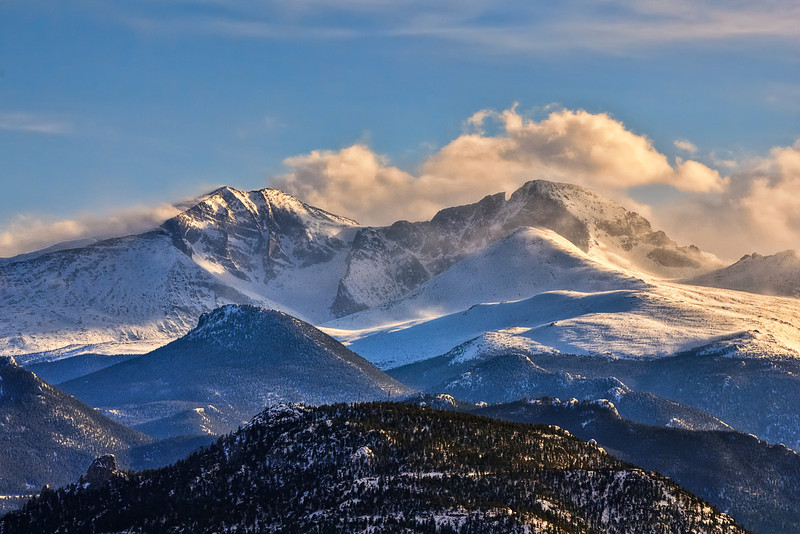 Long's Peak and Mount Meeker After the Storm