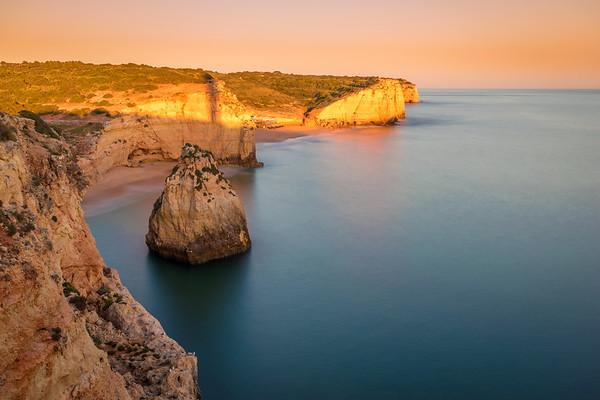Original Golden Algarve Coast Photography By Messagez com